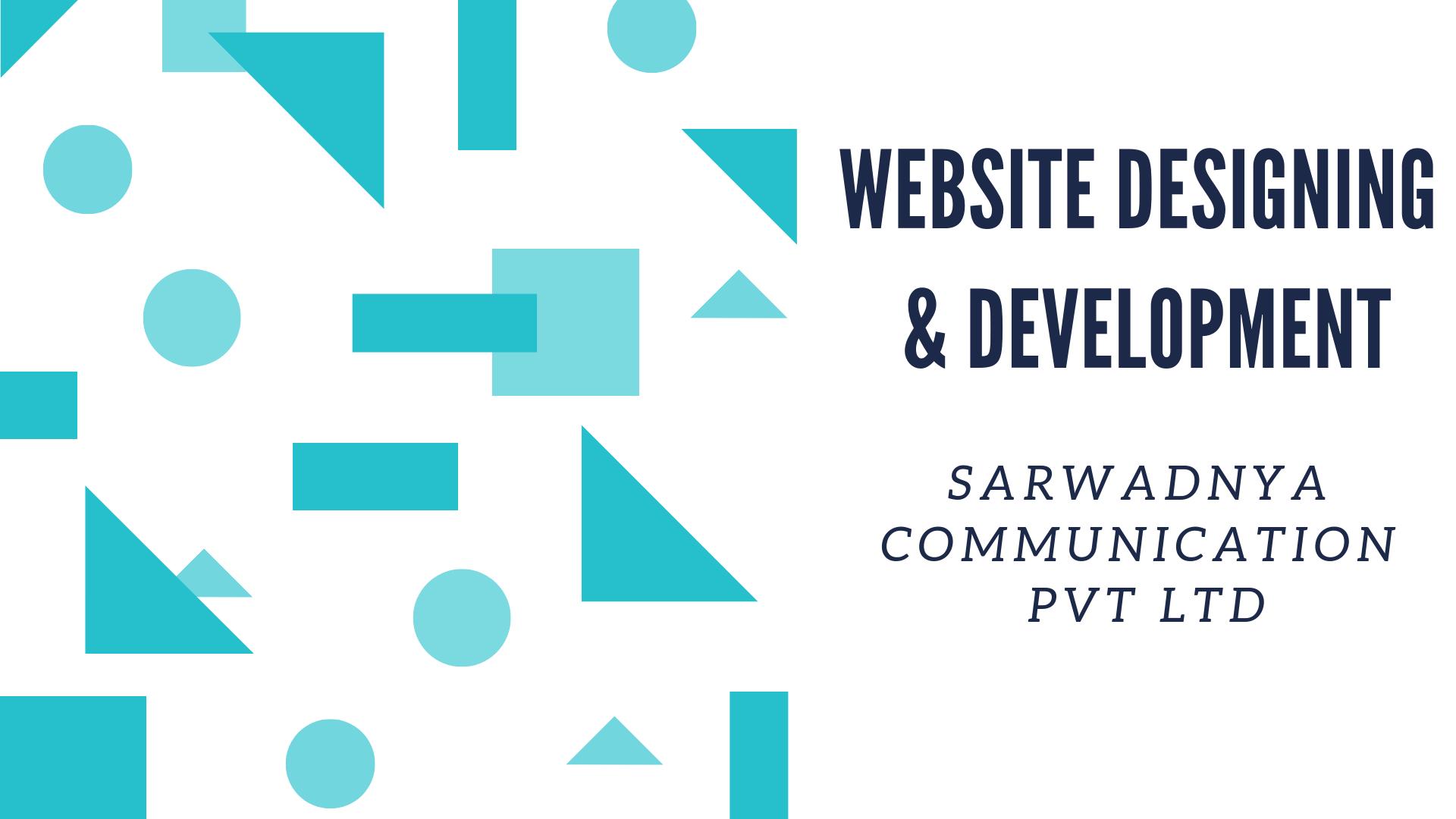 Website designing & development – Sarwadnya Communication